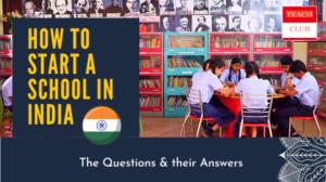 Start a school in india