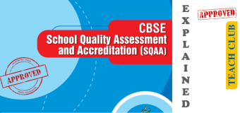 CBSE – School Quality Assessment & Accreditation SQAA