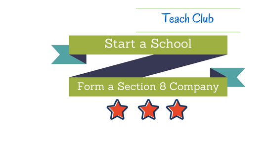 Start a School with Section 8 company