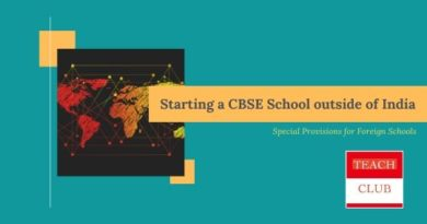Starting a CBSE School outride of India in the foreign country